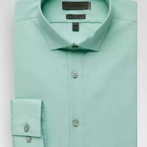 Calvin Klein Mint Green Button-Down